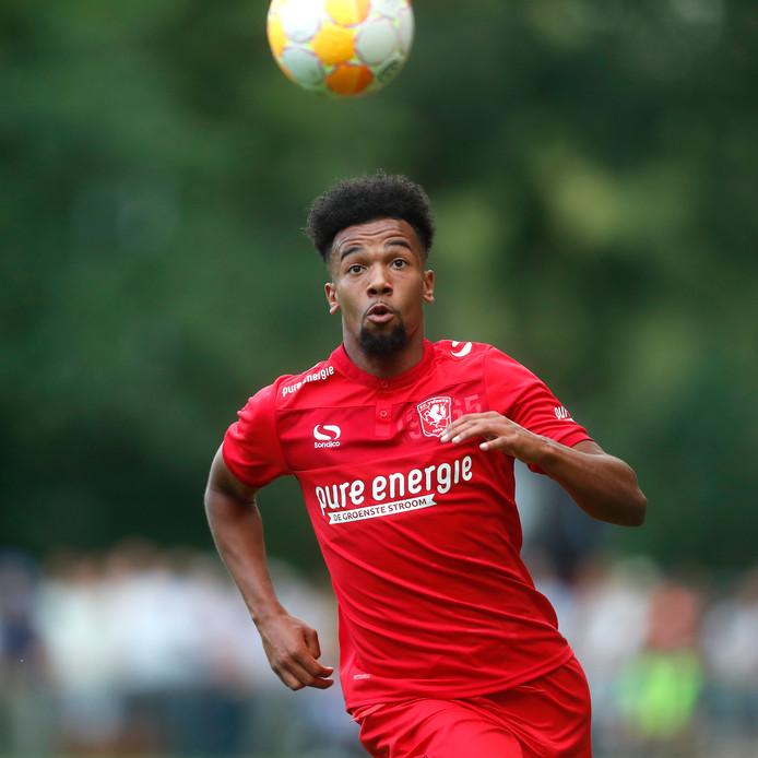 Ryan Trotman was maandagavond de grote man bij Jong FC Twente.
