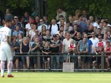 Mooi voetbalfeest in Hattem eindigt in mineur