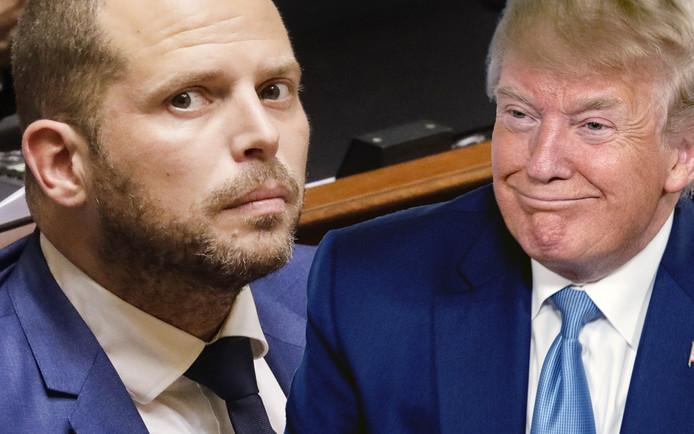 Theo Francken a défendu le bilan Donald Trump.