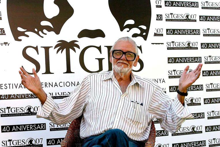 George A. Romero in 2007. Beeld epa