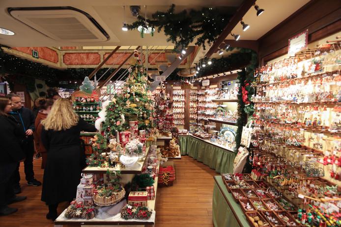 Brugge kerstwinkels: Käthe Wohlfahrt.