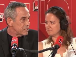 """Thierry Ardisson répond aux critiques de Charline Vanhoenacker: """"Je n'en ai rien à foutre"""""""