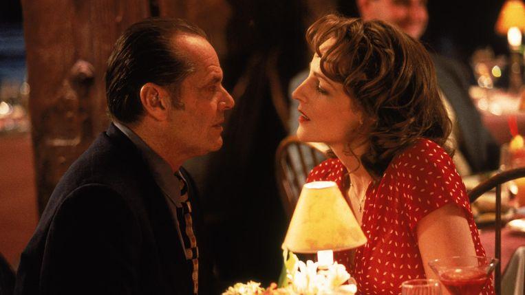 Jack Nicholson as Melvin (links) en Helen Hunt as Carol (rechts) Beeld