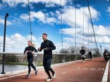 Marathon voor twee: 3750 euro voor het Rode Kruis en droomtijd van 3 uur en vijftig minuten