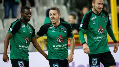 VIDEO. Kylian Hazard schenkt Cercle met twee goals een punt tegen KV Oostende