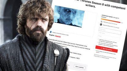'Game of Thrones'-kijkers zijn woest: al meer dan 435.000 fans eisen remake laatste seizoen