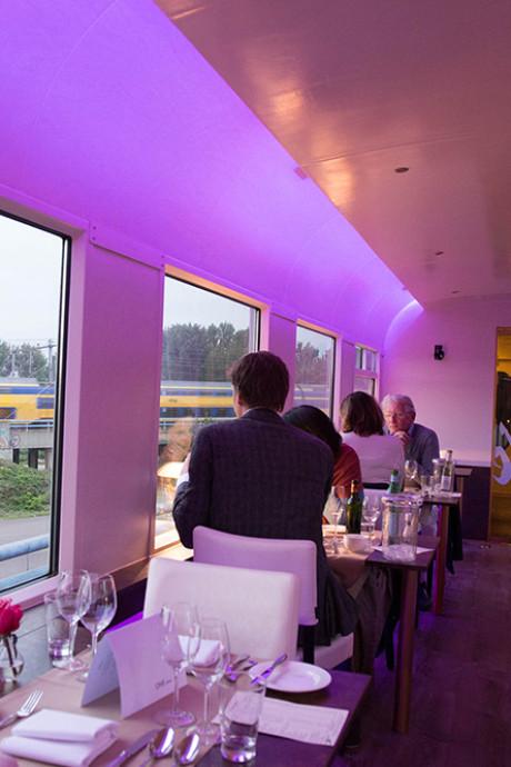 Dineren in de trein: 'Dinner Train' komt naar Apeldoorn, Deventer en Zwolle