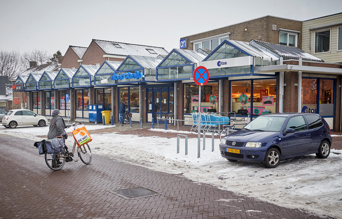 De winkels van Albert Heijn, Etos en Gall & Gall in Berghem.