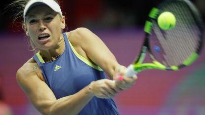 's Werelds nummer een Wozniacki in kwartfinales uitgeschakeld in Sint-Petersburg