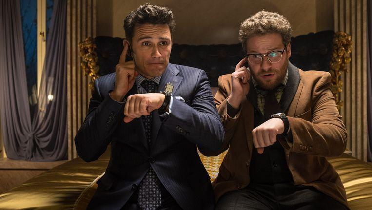 James Franco en Seth Rogen in 'The Interview' Beeld AP