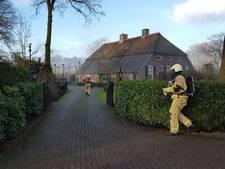Schuurbrand aan Beukenlaantje in Markelo