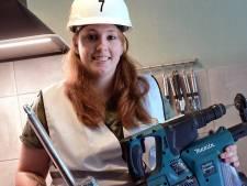 Nathalja (25) is de beste klusser van West-Brabant: 'Ik ben nog te vaak de enige vrouw op de bouw'