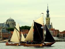 Prachtig zicht: historische schepen strijden om de eer op Hardzeildag in Veere