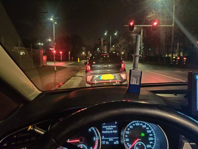 Controle op drugsgebruik in het verkeer in Stichtse Vecht