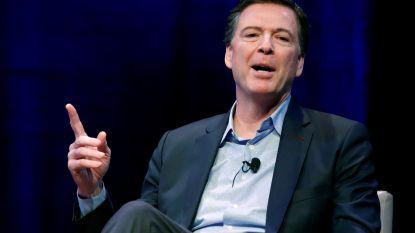 """Voormalige FBI-directeur Comey """"week af van procedures"""" in Clinton-onderzoek"""