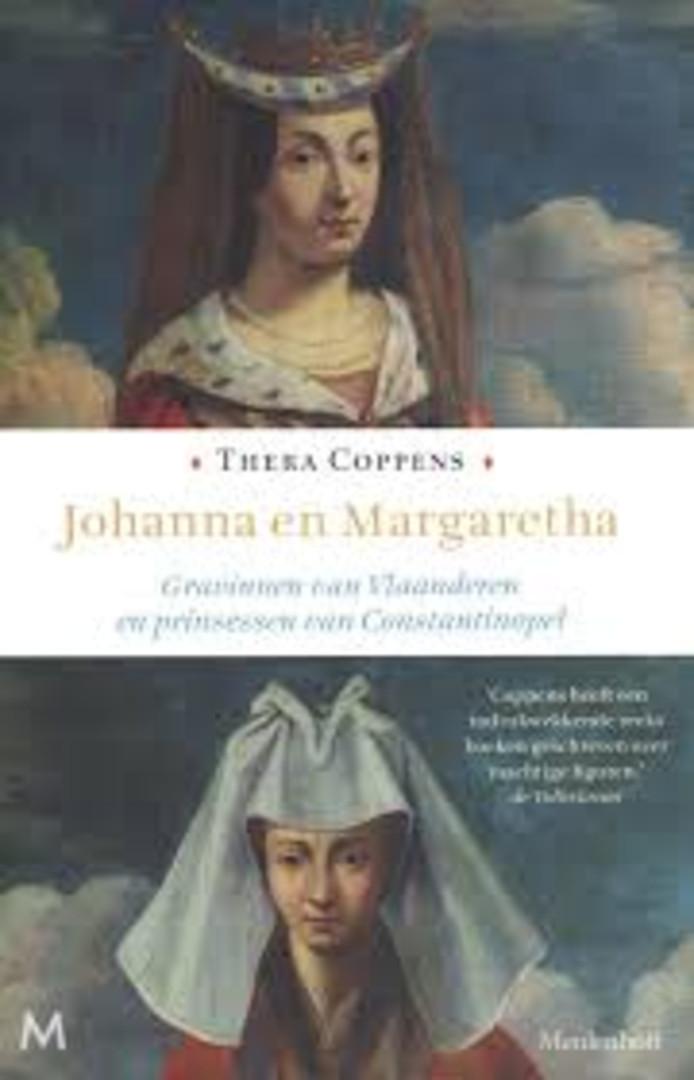 Thera Coppens: cover Johanna en Margaretha