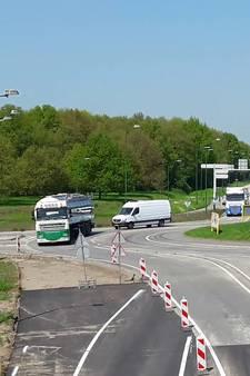 VIDEO: Parallelbaan N269 Hilvarenbeek na werkzaamheden weer dicht