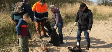 Veel troep en illegale puinstorting opgespoord in Oudendijk