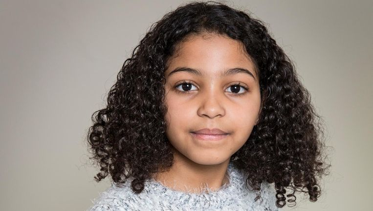 Nour Ait Messaoud (10) is één van de finalisten Beeld Dingena Mol