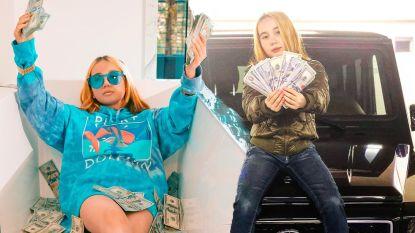 9-jarige rapster die zich uitgaf als 'rijkste kind van de eeuw' verliest alles en duikt onder