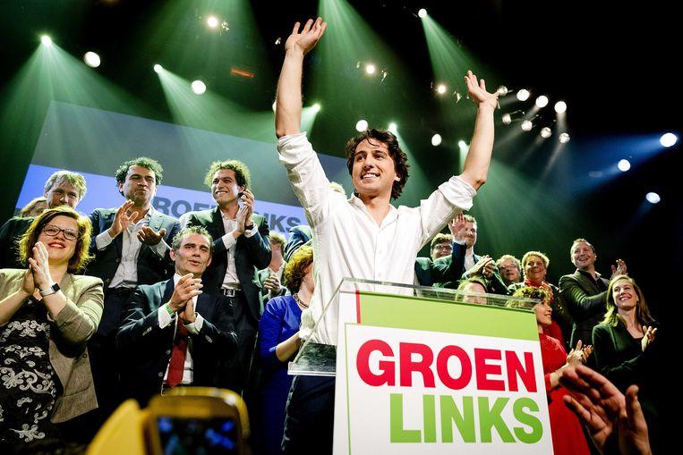 Jesse Klaver, fractievoorzitter van GroenLinks.