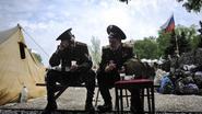 Luchthaven Donetsk dicht, alle vluchten geschrapt