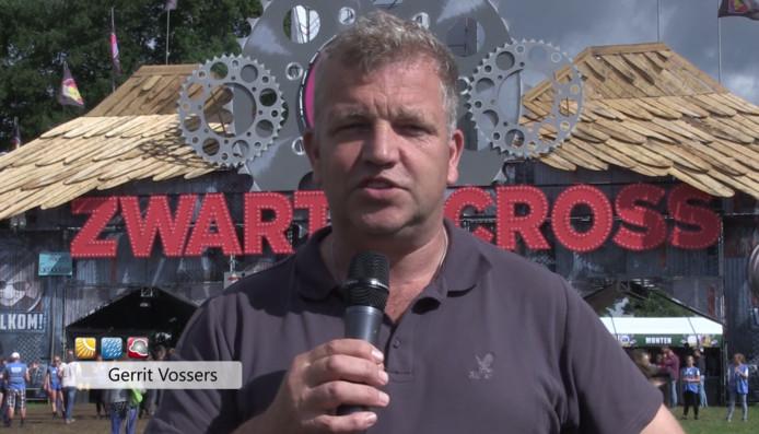 Gerrit Vossers doet de weersverwachting op de Zwarte Cross.