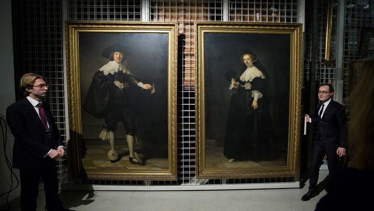 De portretten Maerten en Oopjen reisden twee keer per jaar Beeld anp