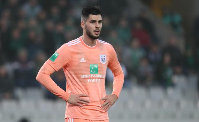 Een speler van Anderlecht.