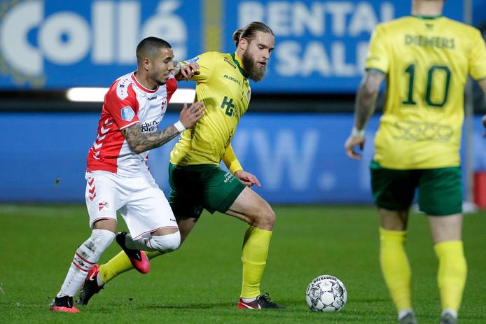 Branislav Ninaj werd in de slotfase naar de kant gestuurd.