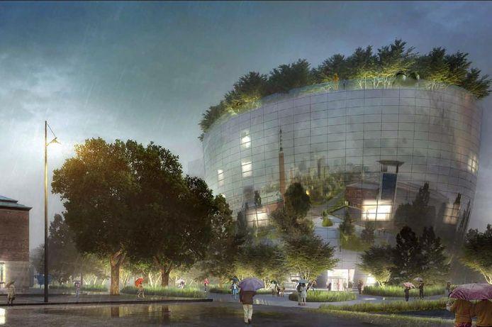 Ook het plan voor de bouw van het DePot werd vandaag door de gemeenteraad Rotterdam aangenomen.