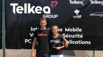 """Vandewinkel speelt eerste ITF-finale: """"Hanne stond er op het goede moment"""""""