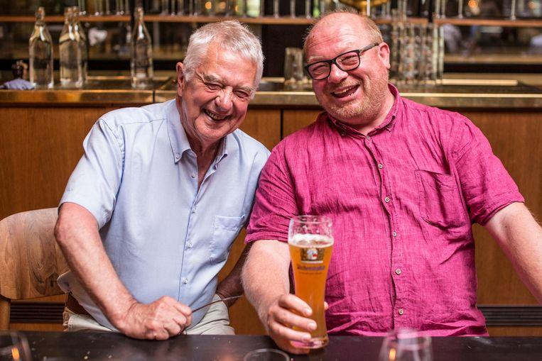 Team Bos en Lommer: Guus Luijters en Rick Kempen. Een gezamenlijke geschiedenis op de Esmoreitstraat Beeld Eva Plevier