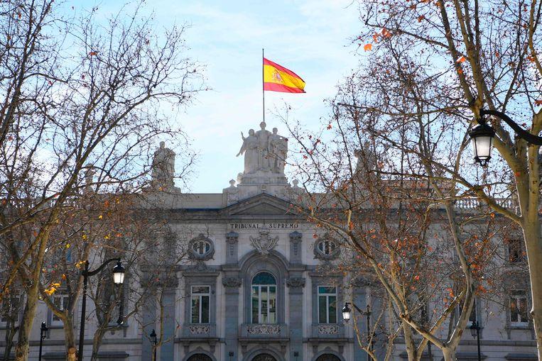 Het Spaanse Hooggerechtshof in Madrid.