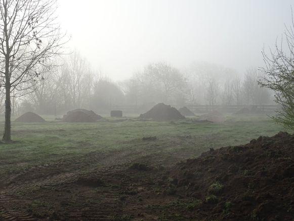 De werken aan een verblijf voor de grote katachtigen in dierenopvangcentrum De Zonnegloed in Vleteren zijn gestart.
