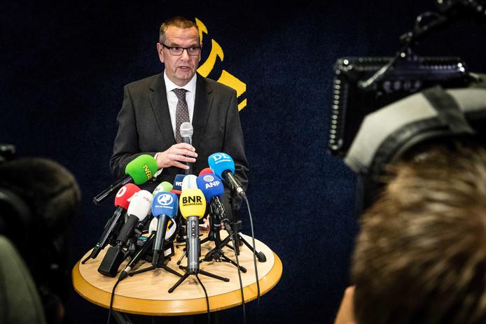 Hoofdofficier van Justitie Jan Eland.