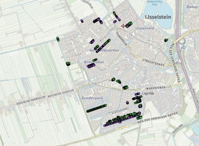 kaart ijsselstein Fruitbomencollectie IJsselstein op digitale kaart | Utrecht | AD.nl