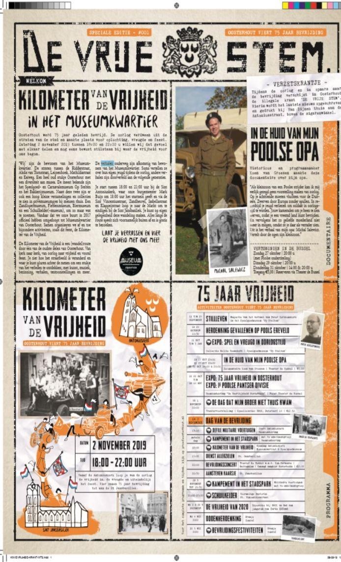 De Bevrijdingskrant van Oosterhout.