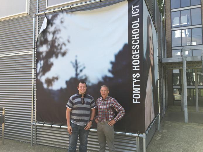 Harm van Veen en Paul Pardoel.
