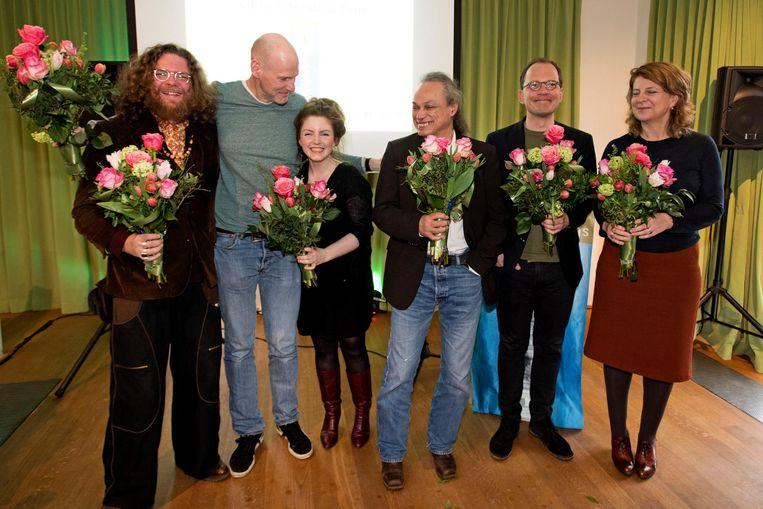 De genomineerden voor de Libris Literatuur Prijs Beeld anp