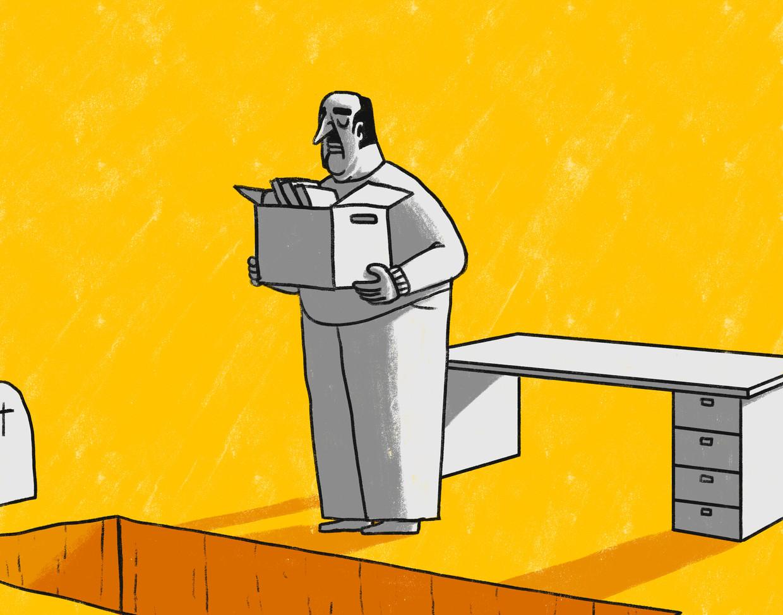 Ontslag kan als een rouwproces voelen: 'Wie was ik zonder die baan?' Beeld Matteo Bal