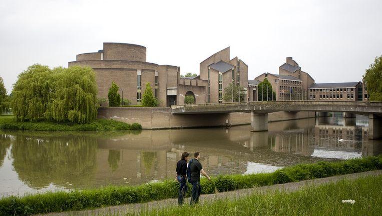 Het provinciehuis van Limburg in Maastricht Beeld anp