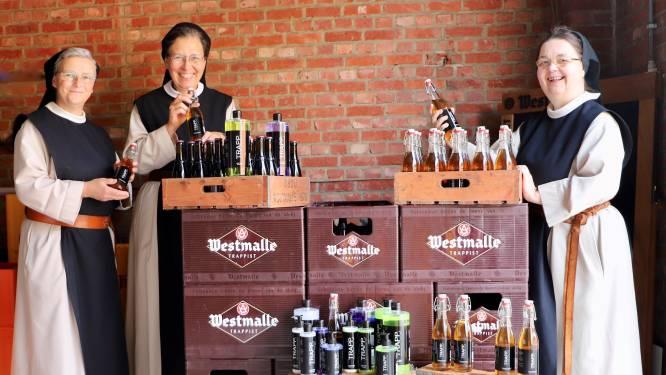 Neem eens een bad in... Westmalle: na shampoo presenteren Brechtse trappistinnen nu ook andere verzorgingsproducten op basis van trappist