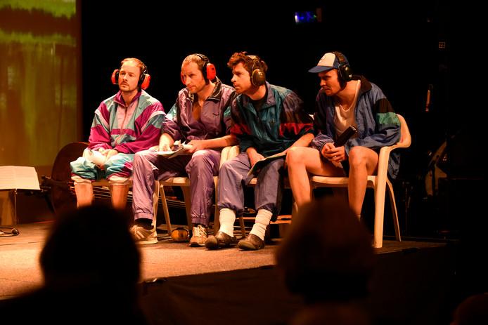 Op het podium van de NWE Vorst was ook ruimte voor een optreden van Het Zuidelijk Toneel.