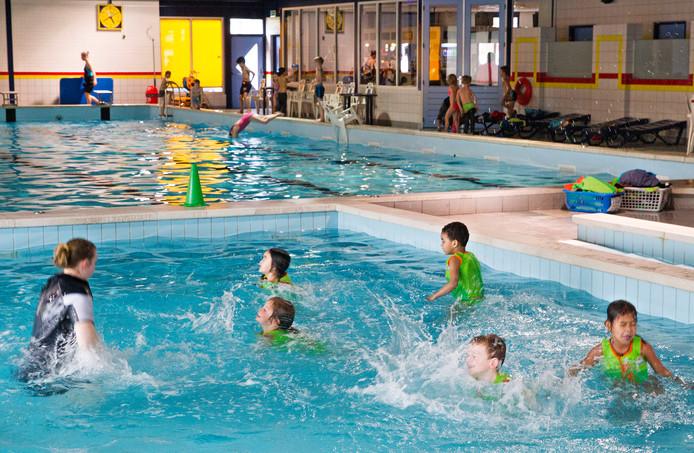 Zwemles in De Smelen in Geldrop.