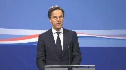 LIVE. Volg hier de persconferentie van de Nederlandse premier Rutte