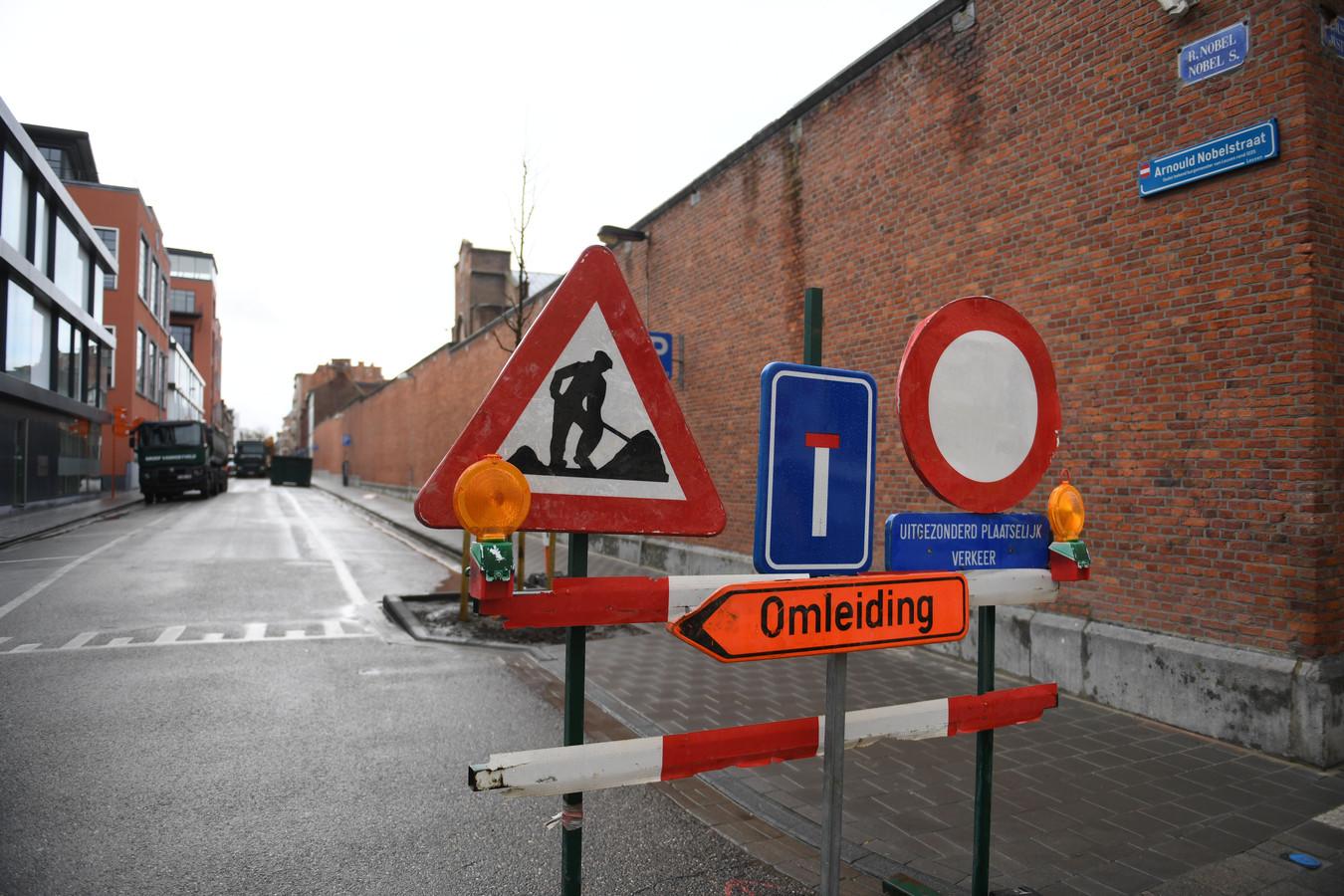 Illustratiebeeld werken in Leuven
