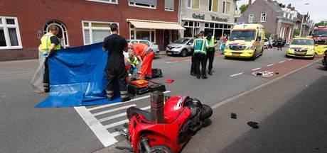 Motorrijder overleden na ongeval op Hoogstraat Eindhoven