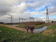 Dikke streep door hoge hallen in de polder van Biert, megastroomstation komt op de Maasvlakte