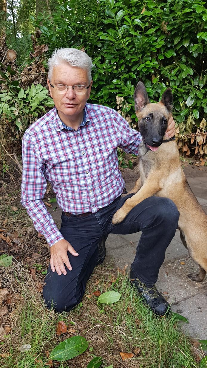 'Clubman' Jan Kerssens met Milo.